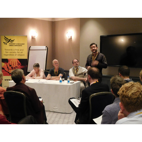 Andrew Copson at 2018 AGM