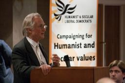 Richard Dawkins at HSLD meeting