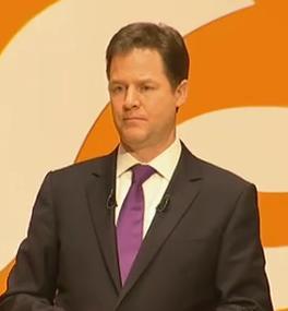 Nick Clegg at NewcastleGateshead conference 2012